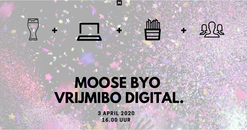Uitnodiging van eerdere Moose vrijmibo