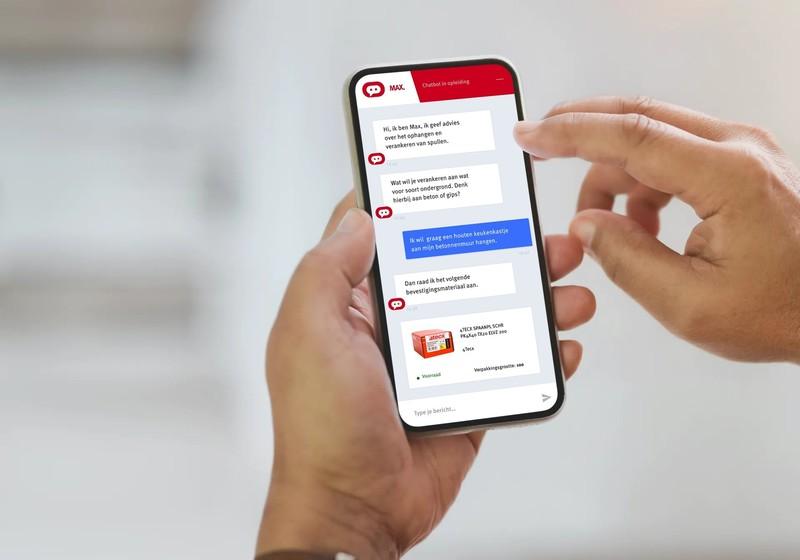 Advies vragen via mobiel aan een chatbot