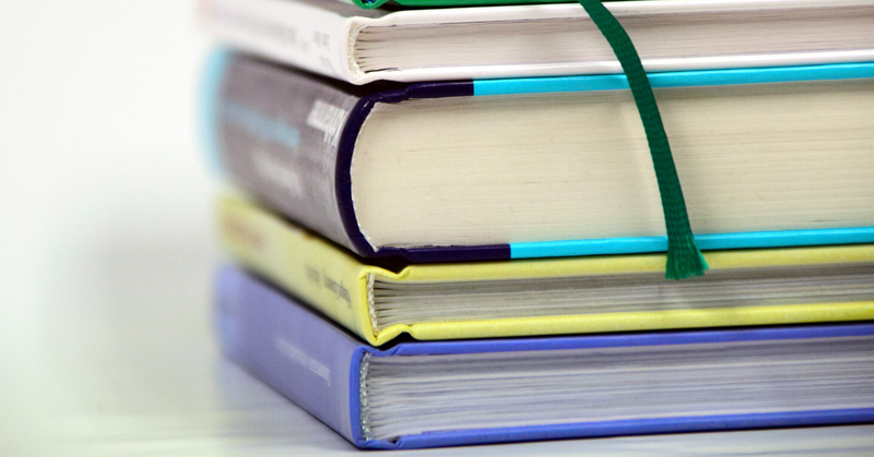 Stapel boeken - boekentips