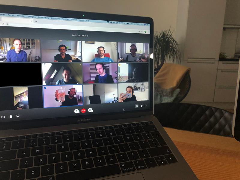Teammeeting digitaal